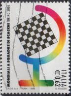 """PIA - ITALIA - 2006 :  Campionati Mondiali A Squadre Di Scacchi """"Torino 2006""""   - (SAS 2912) - Scacchi"""