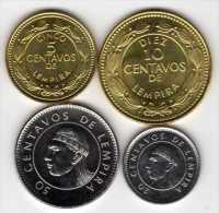 Honduras : Série De 4 Pièces UNC 1999-2006 - Honduras