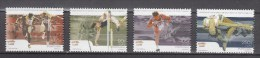 Portugal 2001,4V In Set,athletics,athletiek,leichtathletik,athlétisme,atletismo,atletica, MNH/Postfris(A2271) - Atletiek
