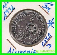 ALEMANIA  - BRD  - MONEDA DE 10 DM  PLATA  S/C  AÑO 1992-D - [10] Conmemorativas