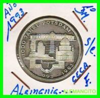 ALEMANIA  - BRD  - MONEDA DE 10 DM  PLATA  S/C  AÑO 1993-F PROOF - [10] Conmemorativas