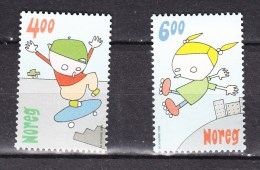 Norway 1999,2V In Set,scateboarden,roller Skates,rolschaatsen,Inline-skates,patins à Roulettes, MNH/Postfris(A2273)