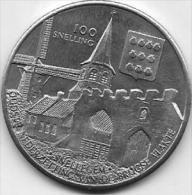 100 SNELLING PASTOOR V.SNELLEGEM 1944-1962 E.H.NOTERDAEME 1-11-1892 - 24.10.1981 - Jetons De Communes