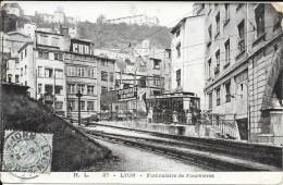 69 - LYON  Funiculaire De Fourvières - Lyon