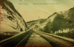 BREAZA DE SUS,PODUL DE PESTE PRAHOVA LA MUNTELE SINOIU,1908,SOCIETATEA INVALIZILOR DE RAZBOI,ROMANIA - Rumänien