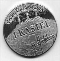 1 KASTEL - KASTERLEE  LICHTAART - TIELEN 1984 GROEN VAKANTIEOORD - Gemeentepenningen