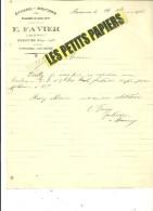 17 - Charente-maritime - MARENNES - Facture FAVIER - épicerie, Mercerie – 1922 - REF 223 - 1900 – 1949