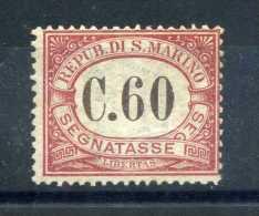 1924 SAN MARINO N.14 SENZA GOMMA (WITHOUT GUM) - Segnatasse