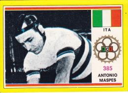 Cyclisme Wielrennen : Chromo PANINI SPRINT 73 - N°385 - Antonio Maspes - Cyclisme