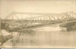 Pont Sur Le BOBR Borissov  Affluent Du Narevbielorussie Belarus Guerre 1914:1918 Carte Photo Mars Avril 1918 - Belarus