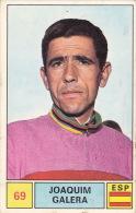 Cyclisme Wielrennen : Chromo PANINI SPRINT 71 - N°69 - Jaoquim Galera - Cyclisme