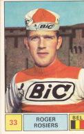 Cyclisme Wielrennen : Chromo PANINI SPRINT 71 - N°33 - Roger Rosiers - Cyclisme