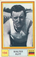 Cyclisme Wielrennen : Chromo PANINI SPRINT 71 - N°194 - Walter Rütt - Cycling