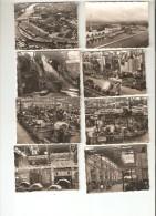 Carnet De 19 Photos ( 8,5X6,4) Usines RENAULT - Chaines Production 4 Cv, Dauphine -  L´ Etoile Filante - Voitures
