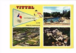 88 - VITTEL - Cité Préolympique - Multivues - STADE STADIO STADIUM FOOTBALL - Athlète Coq - Football