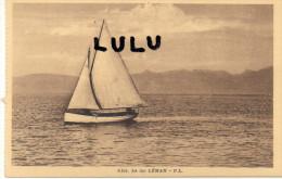 DEPT 74 : Le Lac Léman  ( Voilier ) - France