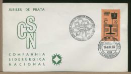 BRASIL - GUANABARA - COMPAGNIA SIDERURGICA NAZIONALE - FUSIONE COLATA ACCIAIO - Fabbriche E Imprese