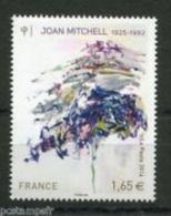 2014 JOAN MITCHELL    1  VAL. MNH - Ungebraucht