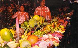 Polynésie Française -Marché Des Fruits à PAPEETE Tahitian's Fruit Market  *PRIX  FIXE - Polynésie Française