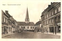 Ursel : Gemeenteplaats En Kerk ( Winkel, Drukkerij , Café ,..) - Knesselare