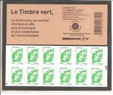 MARIANNE DE BEAUJARD - LE TIMBRE VERT - RE. - Carnets