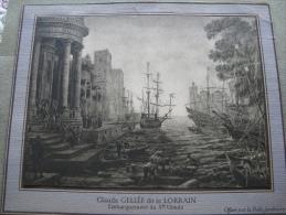 Claude Gelée Dit Le Lorrain - Old Paper