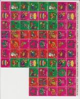 Canada Kerstvignetten 1971 71 Stuks ** - Ongebruikt
