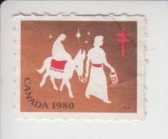 Canada Kerstvignet 1980 Gebruikt - Unused Stamps