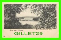 GRUSS AUS POTSDAM, GERMANY - BLICK AUF DIE GLIENICKER BRUCKE  IN 1900 - UNDIVIDED BACK - MINT CONDITION - - Potsdam