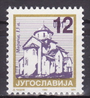 YUGOSLAVIA 2002. Definitive, MNH (**), Mi 3102 - Neufs