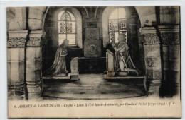 Saint Denis - Abbaye - Crypte - Louis XVI Et Marie Antoinette - Saint Denis