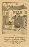 Feldpost, Luftwaffe, Schleissheim, Flak, Deutsche Wehrmacht, Humor-Postkarte, Drittes Reich, WWII - Weltkrieg 1939-45