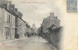 Saint-Aubin-du-Cormier (Ile-et-Vilaine) - Rue De L'Ecu - Edition Havard - Carte N°6 - Autres Communes