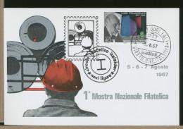 ITALIA - Mostra Filatelica Circolo  ITALSIDER - Fabbriche E Imprese