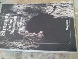 Intime Memoiren Und Das Buch Von Marie Jo Georges SIMENON Diogènes Taschenbuch EN ALLEMAND - Biographies & Mémoires