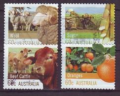 AUSTRALIEN - 2012 - MiNr. 3761 - 3764 BC - Gestempelt - 2010-... Elizabeth II