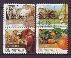 AUSTRALIEN - 2012 - MiNr. 3761 - 3764 BA - Gestempelt - 2010-... Elizabeth II