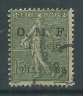Cilicie N° 93 O   1 Pi.  Sur  15 C. Vert-olive  , Légère Oblitération,  TB