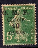 Cilicie N° 90 X 10 Pa Sur 5 C. Vert  Trace De  Charnière Sinon TB