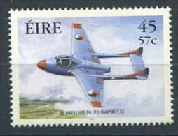 155 IRLANDE 2000 - Avion Vampire T55 (Yvert 1289) Neuf ** (MNH) Sans Trace De Charniere - Nuovi