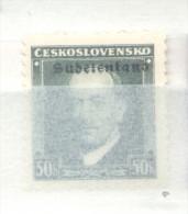 SUDETENLAND KONSTANTINSBAD MICHEL NR. 8 (360) MNH TBE ORIGINAL - Ocupación 1938 – 45