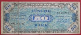50 Mark Alliierte Militärbehörde 1944 (WPM 196d) - 50 Mark