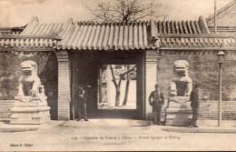 CHINE -PEKIN-  LEGISLATION DE FRANCE A PEKIN   - 109 BELLE CARTE ANIMEE - Chine
