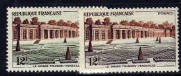 France N° 1059b  XX Le Grand Trianon De Versailles Variété Couleur Brun-violet  Au Lieu De Vert TB