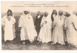 Maroc - Casablanca - Les Grands Chefs De La Justice  Pacha Omar Tazi , Kalifa Moulay Ahmed Si Abdel Krim Ben M'sik - Casablanca