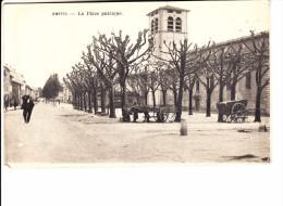 RHONE - AMPUIS - La Place Publique - Charette - Sonstige Gemeinden