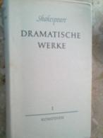 Ersten Band Shakespeare Dramatische Werke Komödien Büchergilde Gutenberg Frankfurt Am Main - Livres Scolaires