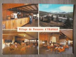 LA TOUR DE CAROL (66). MULTIVUES SUR LE  VILLAGE DE VACANCES D´YRAVALS . ANNEE 1986.TBE. - France