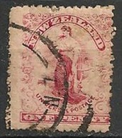 Timbres - 0céanie - Nouvelle Zélande - 1899-1907 - 1 Penny - - 1855-1907 Crown Colony