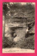 88 VOSGES, Vallée De CELLES, La Roche Du Pilier, Animée, 1915, (C. Thomas, Celles Sur Plaine) - France